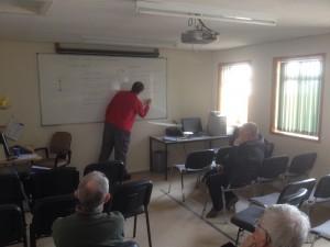 Dave Watson briefing X wind landings April